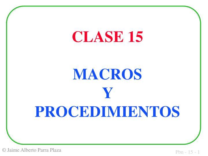 clase 15 macros y procedimientos