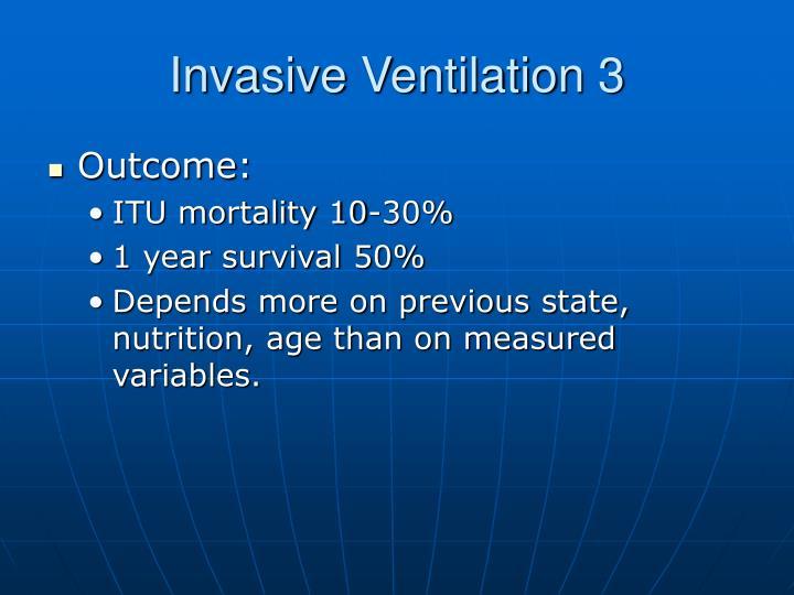 Invasive Ventilation 3