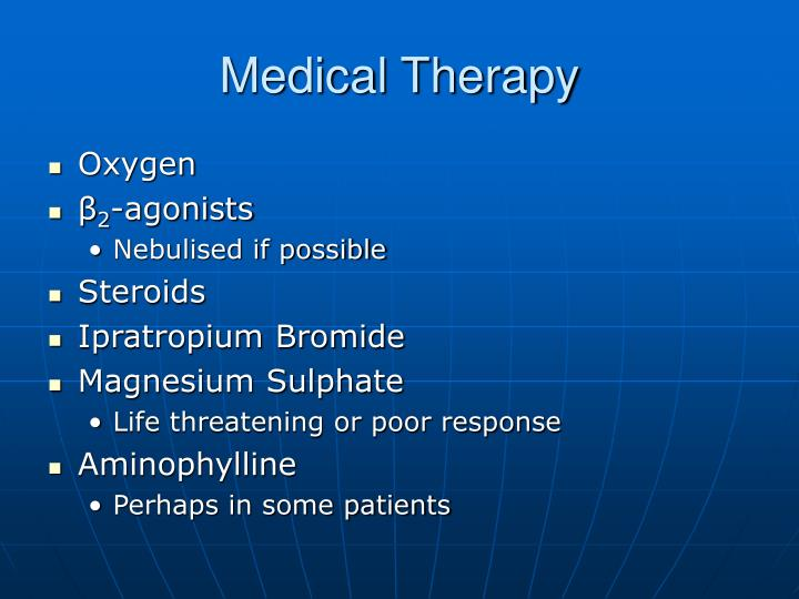 Medical Therapy