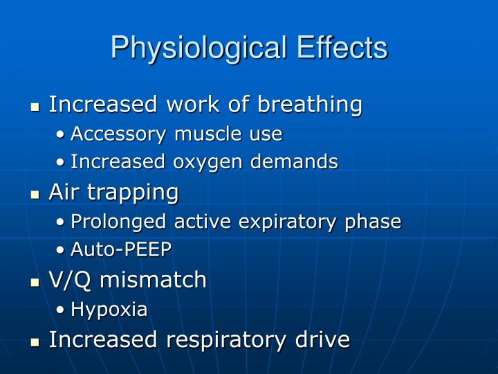 Physiological Effects