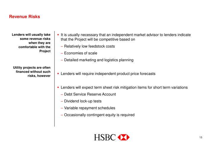 Revenue Risks