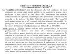 i requisiti di ordine generale cause ostative penali art 38 1 lett c3