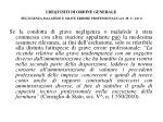 i requisiti di ordine generale negligenza malafede e grave errore professionale art 38 1 lett f2