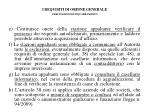 i requisiti di ordine generale precisazioni di inquadramento1