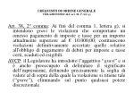 i requisiti di ordine generale violazioni fiscali art 38 1 lett g3