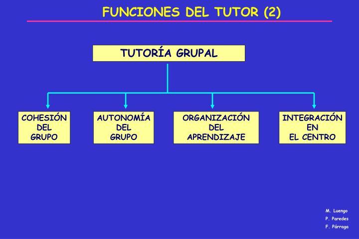 FUNCIONES DEL TUTOR (2)