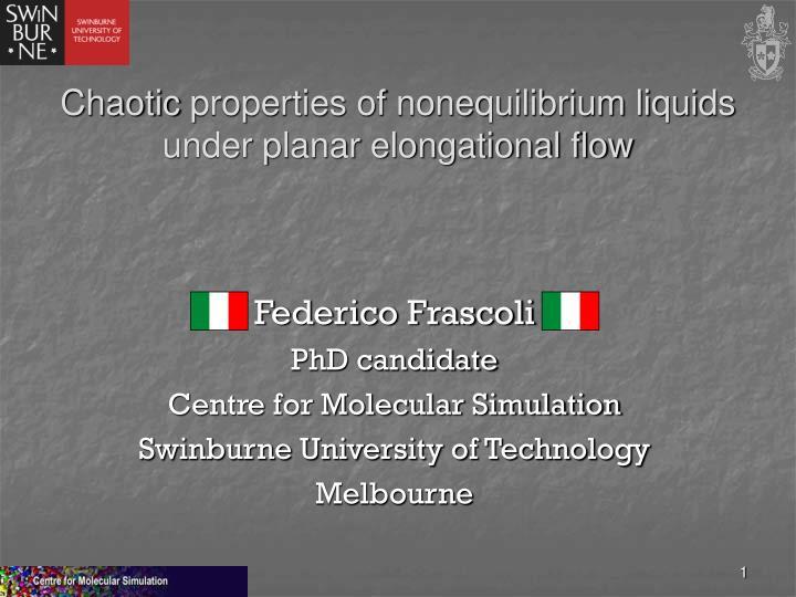chaotic properties of nonequilibrium liquids under planar elongational flow