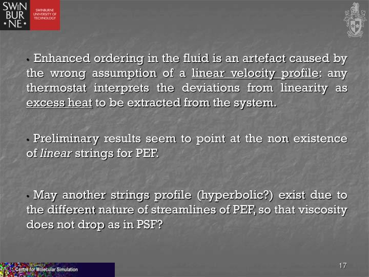 Enhanced ordering in the fluid is an artefact caused by the wrong assumption of a