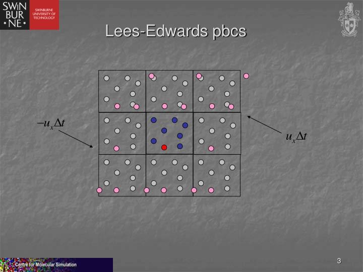 Lees-Edwards pbcs