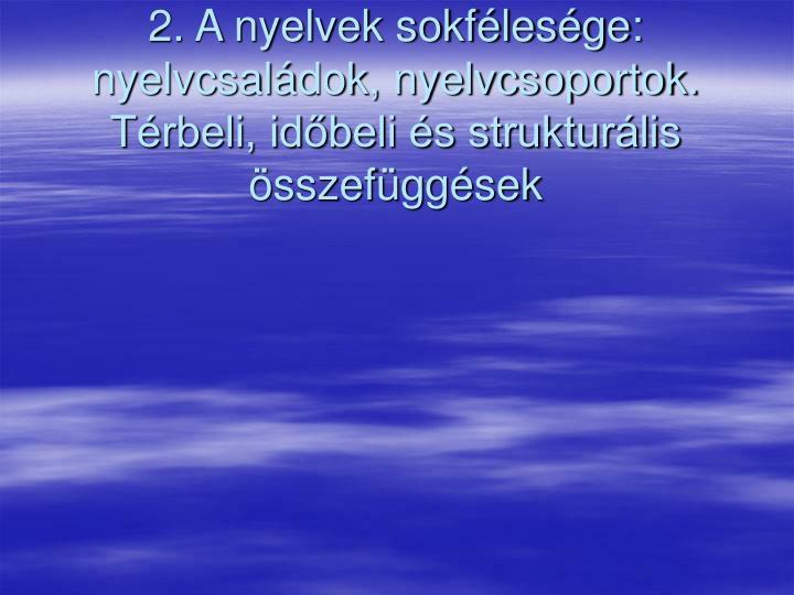 A magyar nyelv finnugor rokonsága