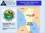 context metro manila and marikina city