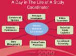 a day in the life of a study coordinator1