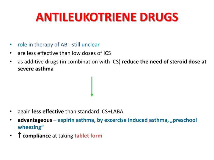 ANTILEUKOTRIENE DRUGS