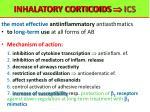 inhalatory corticoids ics
