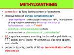 methylxanthines