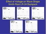 effect of voltage on wave shape smith root lr 24 backpack