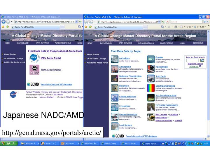 Japanese NADC/AMD
