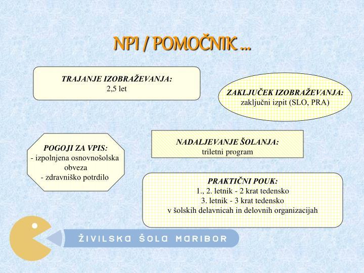 NPI / POMOČNIK ...