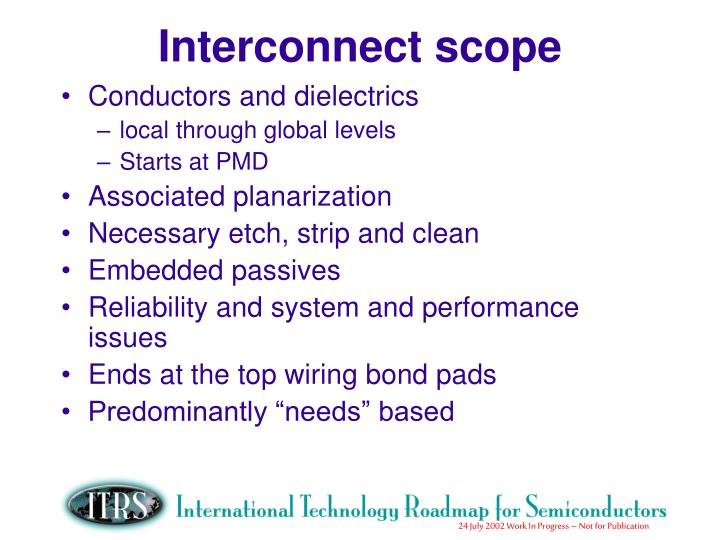 Interconnect scope
