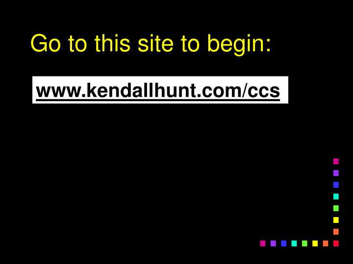 Go to this site to begin: