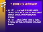2 jeesukseen kristukseen2