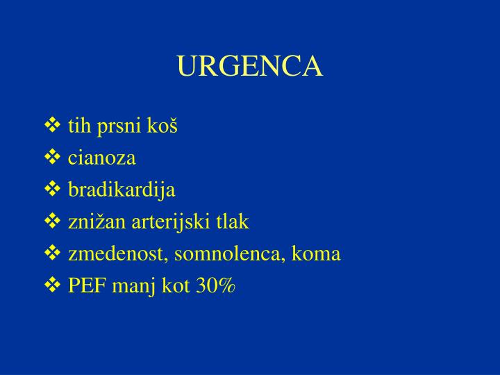 URGENCA