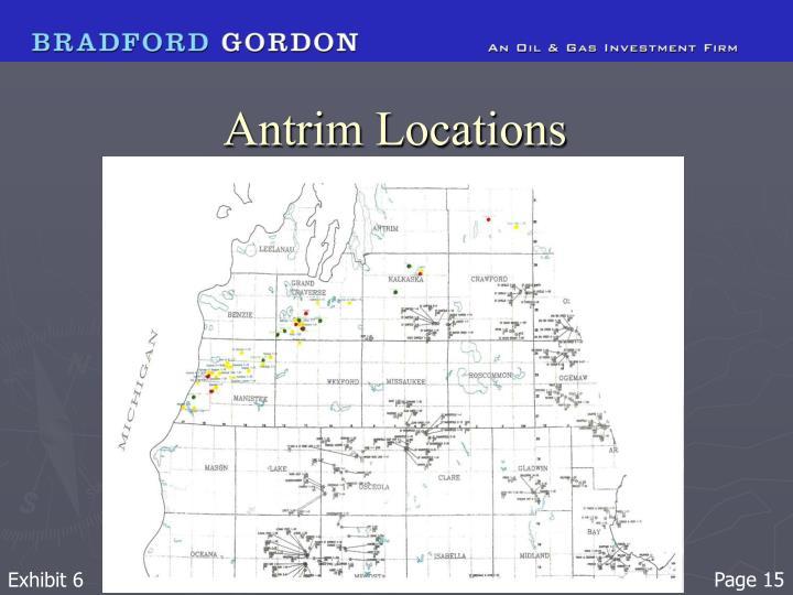 Antrim Locations