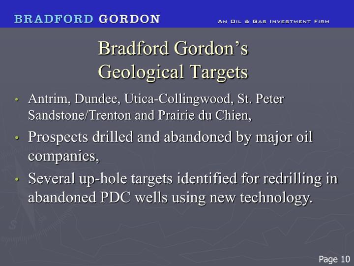 Bradford Gordon's