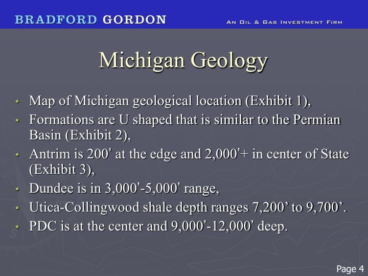Michigan Geology