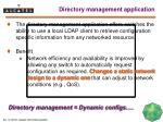 directory management application