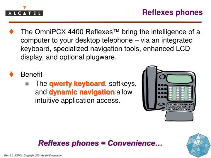 Reflexes phones