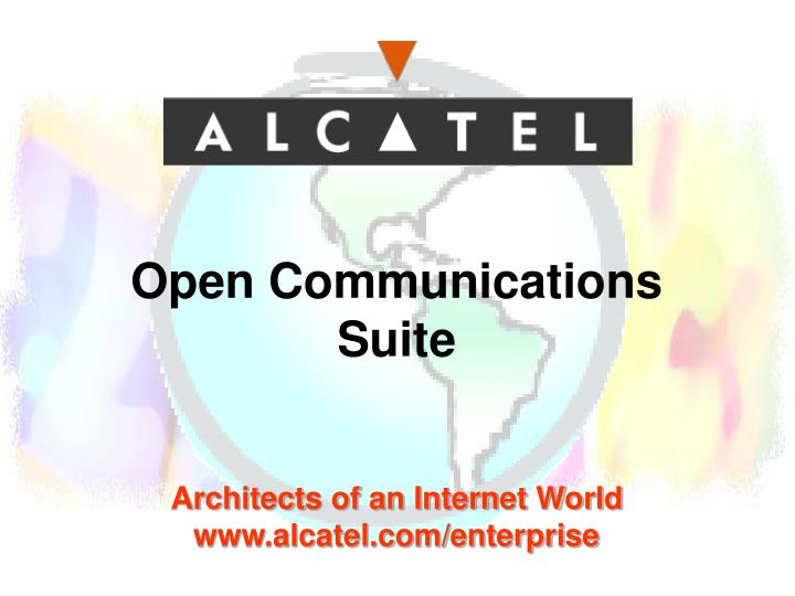 Open Communications