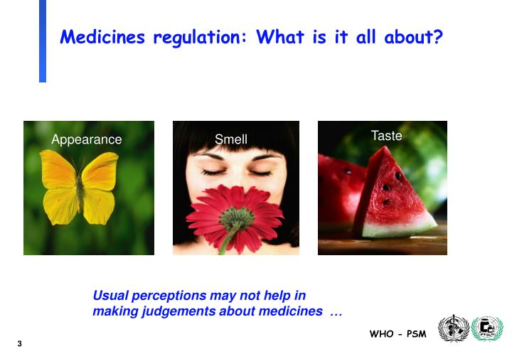 Medicines regulation: What is it all about?