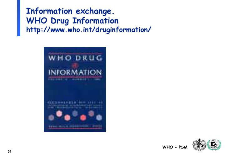 Information exchange.