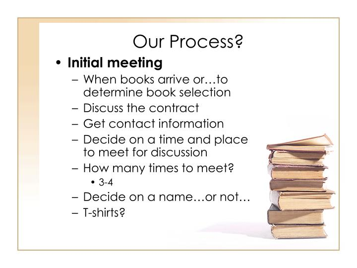 Our Process?