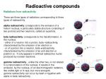 radioactive compounds2