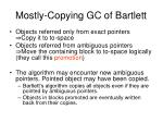 mostly copying gc of bartlett