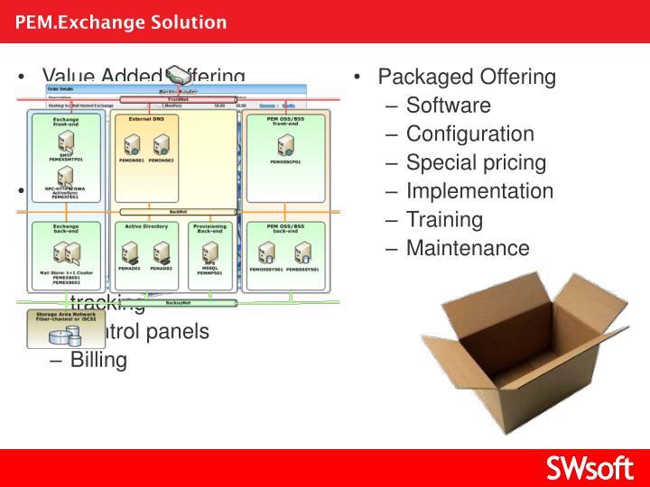 PEM.Exchange Solution