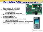 de ja 80y gsm communicator