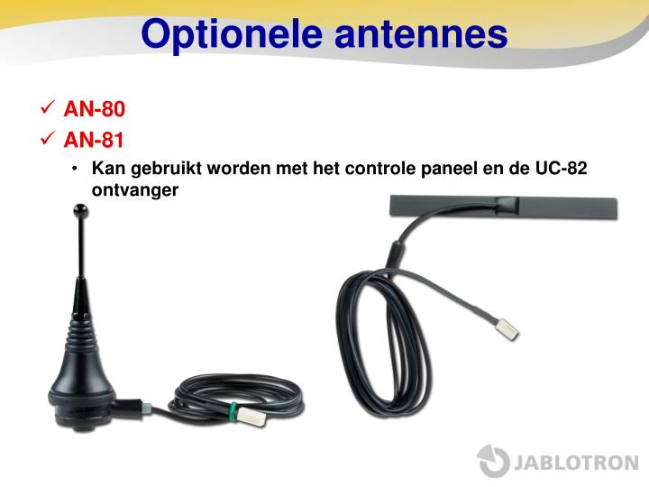 Optionele antennes