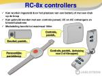 rc 8x controllers