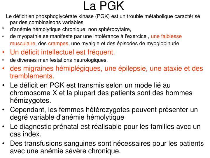 La PGK