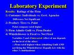 laboratory experiment1