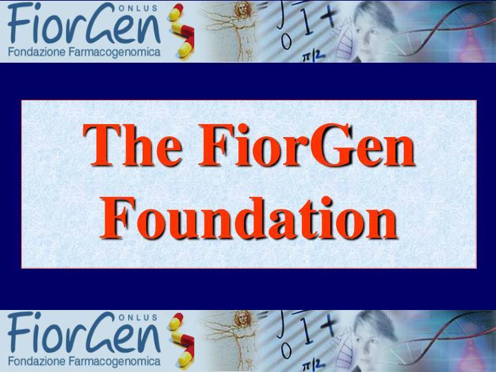 The FiorGen Foundation