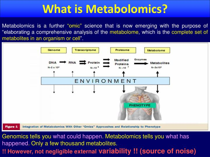 What is Metabolomics?