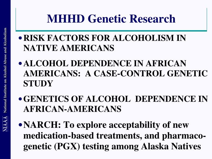 MHHD Genetic Research