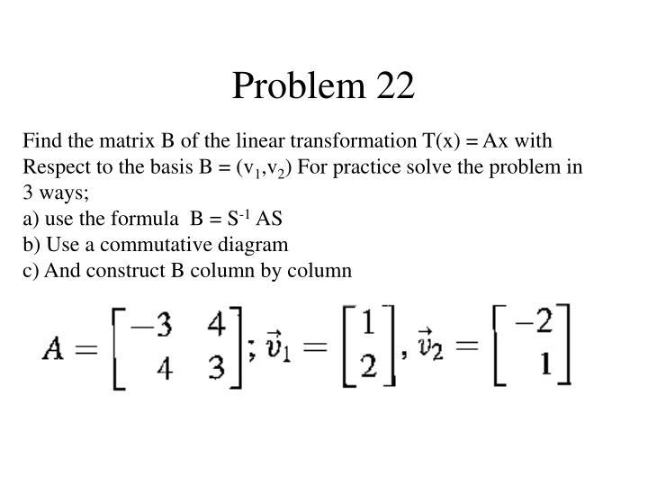 Problem 22