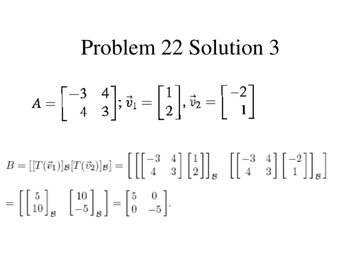 Problem 22 Solution 3