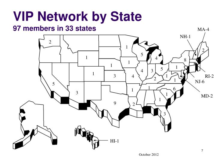 VIP Network by State