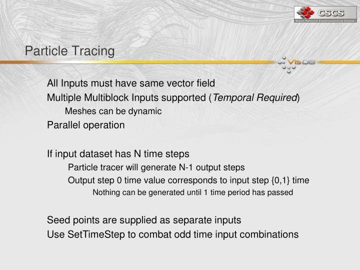 Particle Tracing